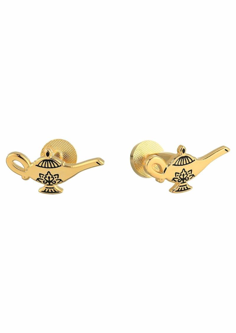 Cufflinks Inc. Gold Lamp Cufflinks