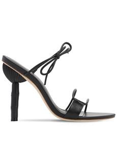 Cult Gaia 100mm Malia Leather Sandals