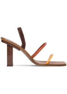 Cult Gaia 70mm Kaia Leather Sandals