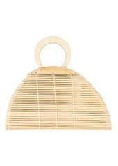 Cult Gaia Ally Bamboo Top Handle Bag
