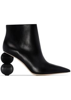 Cult Gaia Cam 100 round heel boots