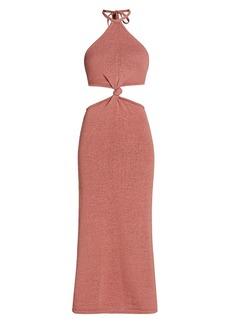 Cult Gaia Cameron Twist Knit Dress