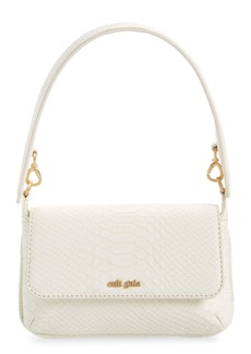 Cult Gaia Damara Leather Shoulder Bag