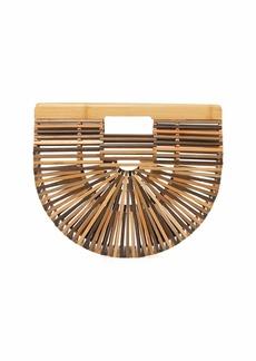 Cult Gaia Gaia's Ark Small Bamboo Clutch Bag