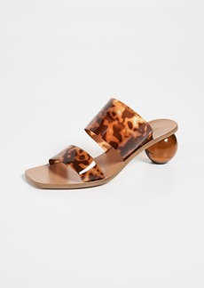 Cult Gaia Jila Heel Slide Sandals
