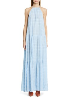 Cult Gaia Linda Crinkle Maxi Dress