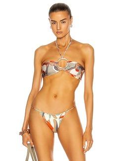 Cult Gaia Myra Bikini Top