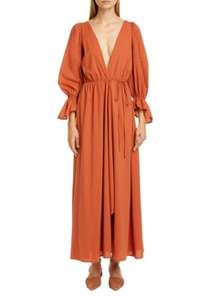 Cult Gaia Oona Long Sleeve Midi Dress
