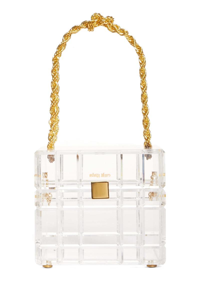 Cult Gaia Phaedra Clear Handbag