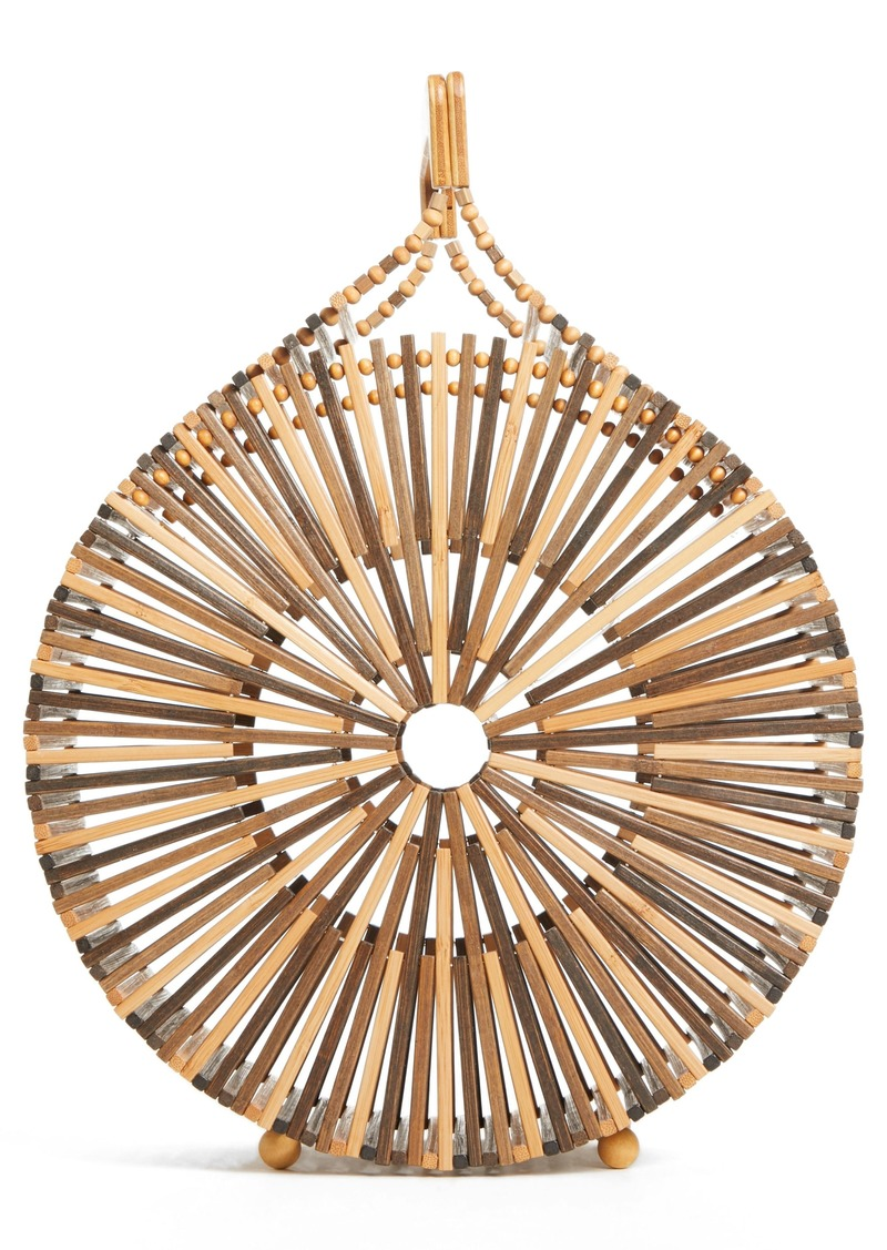 Cult Gaia Round Bamboo Top Handle Bag (Nordstrom Exclusive)