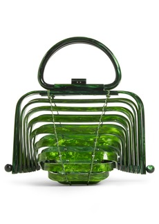 Cult Gaia The Lilleth Acrylic Handbag