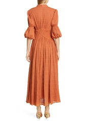 Cult Gaia Willow Eyelet Maxi Dress