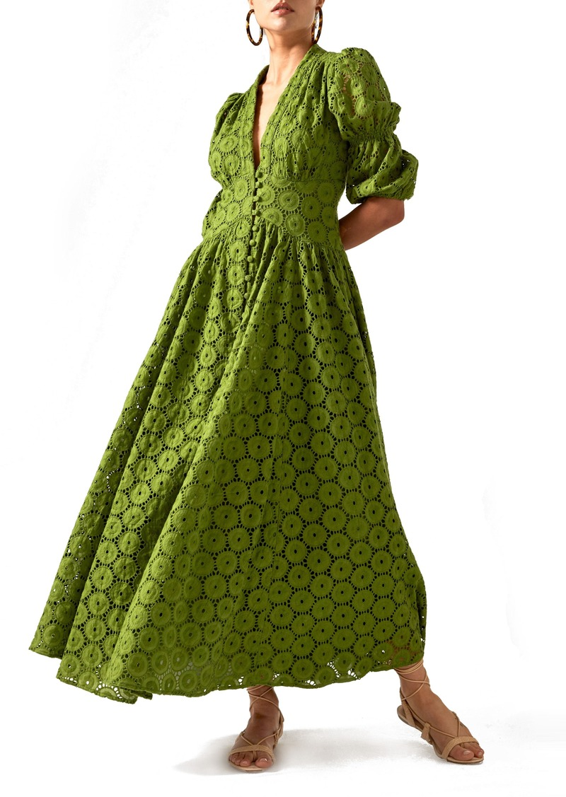 c06e2897641 Cult Gaia Cult Gaia Willow Eyelet Maxi Dress