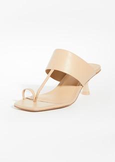 Cult Gaia Yvette Toe Ring Sandals