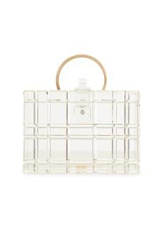 Cult Gaia Fai Acrylic Top Handle Bag
