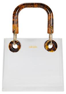 Cult Gaia Geneva Acrylic Top Handle Bag