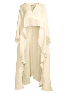 Cult Gaia Goldie High-Low Cover-Up