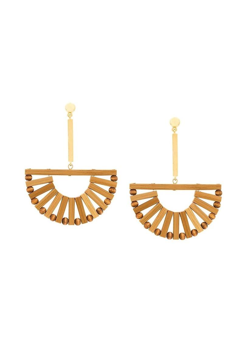 Cult Gaia hanging Ark earrings