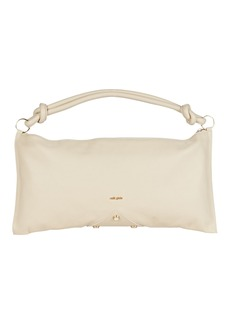Cult Gaia Hera Knotted Leather Shoulder Bag