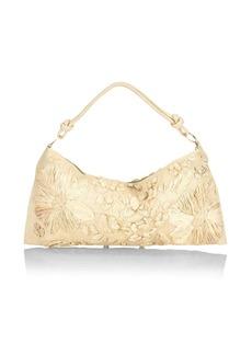 Cult Gaia Hera Straw Shoulder Bag