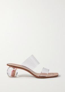 Cult Gaia Jila Flower Pvc Sandals