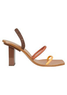 Cult Gaia Kaia Strappy Leather Sandals