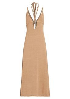 Cult Gaia Kingsley Cut-Out Knit Midi Dress