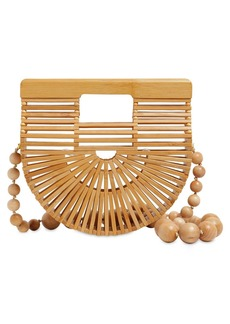 Cult Gaia Micro Arc Bamboo Cross Body Bag