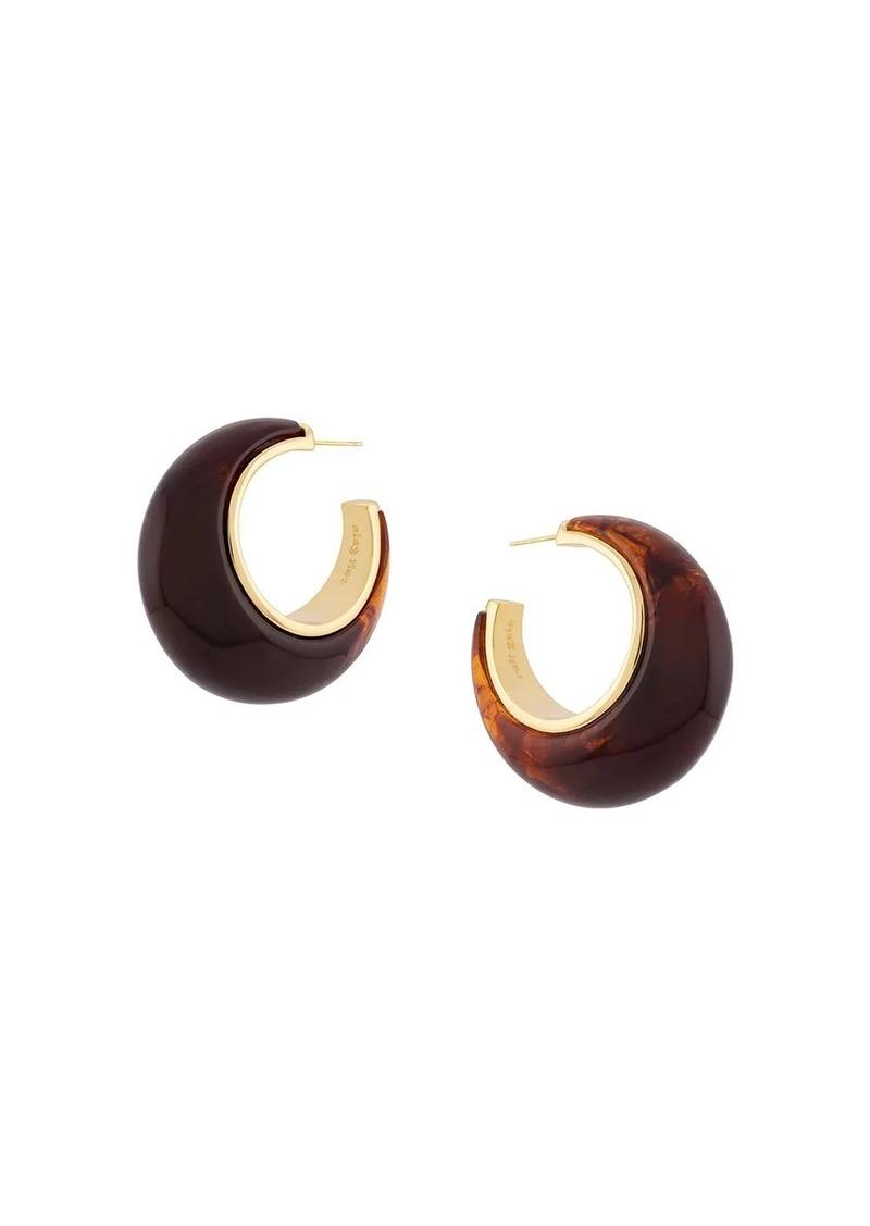 Cult Gaia Mona hoop earrings