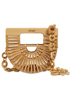 Cult Gaia Nano Bamboo Top Handle Bag