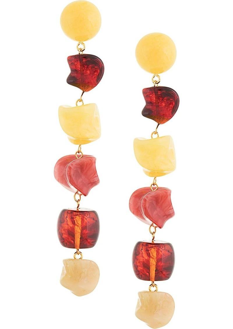 Cult Gaia stones drop earrings