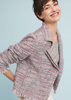 cupcakes and cashmere Canter Tweed Moto Jacket