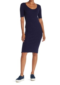 cupcakes and cashmere Corazon Scoop Neck Dress