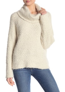 cupcakes and cashmere Cowl Neck Boucl? Sweater