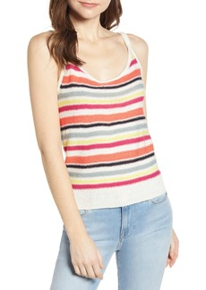 cupcakes and cashmere Aeon Stripe Sweater Tank