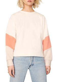 cupcakes and cashmere Alisha Colorblock Sweatshirt