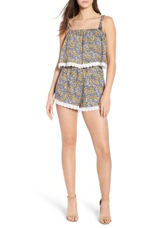 cupcakes and cashmere Andria Floral Romper
