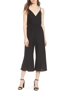 cupcakes and cashmere Austine Pleated Jumpsuit