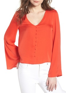 cupcakes and cashmere Bastille Blouse