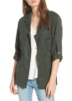 cupcakes and cashmere Brannen Military Jacket