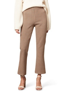 cupcakes and cashmere Camille Plaid Ankle Pants