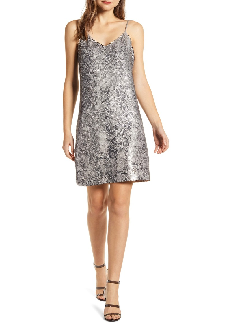 cupcakes and cashmere Candice Sequin Slipdress