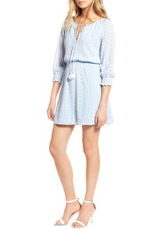 cupcakes and cashmere Chuck Embroidered Dress