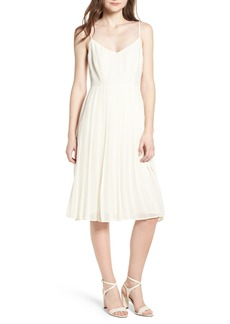 cupcakes and cashmere Deena Pleated Dress