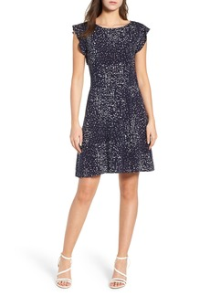 cupcakes and cashmere Dolores Fit & Flare Dress