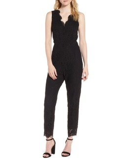 cupcakes and cashmere Evita Lace Jumpsuit