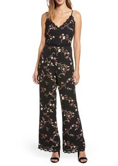 cupcakes and cashmere Floral Jumpsuit