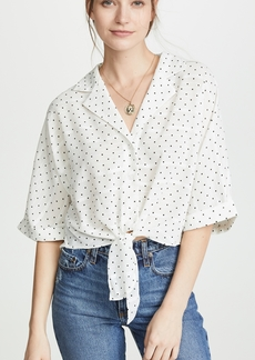 cupcakes and cashmere Gardenia Blouse