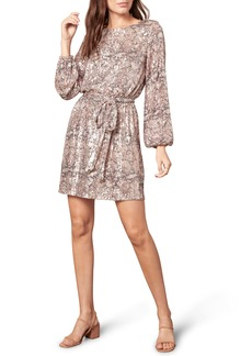 cupcakes and cashmere Ginger Sequin Long Sleeve Minidress