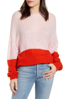 cupcakes and cashmere Janus Colorblock Pullover